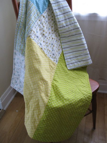 3-2-1 Quilted Throw My Happy Garden