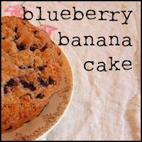 Blueberrybananacake