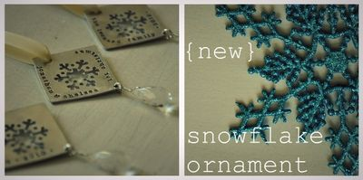 Snowflake, custom jewelry