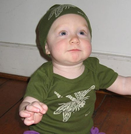 Dragonfly Infant SS Lap Tee and Hat