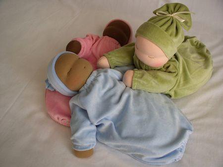 Heavy-baby-waldorf-dolls