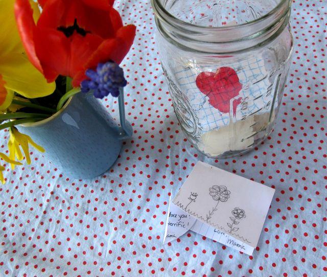 Love note jar