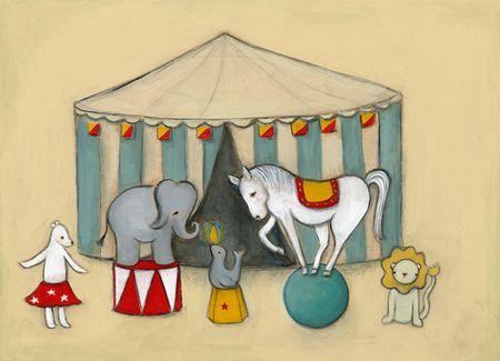 At the circus 500 pixels