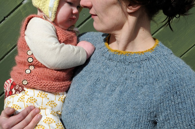 Elizabeth Zimmermann Knitting Patterns : SouleMama: once more, with neck