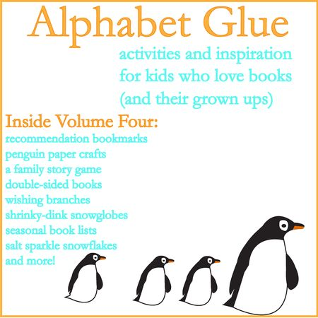Alphabet Glue Volume Four Logo