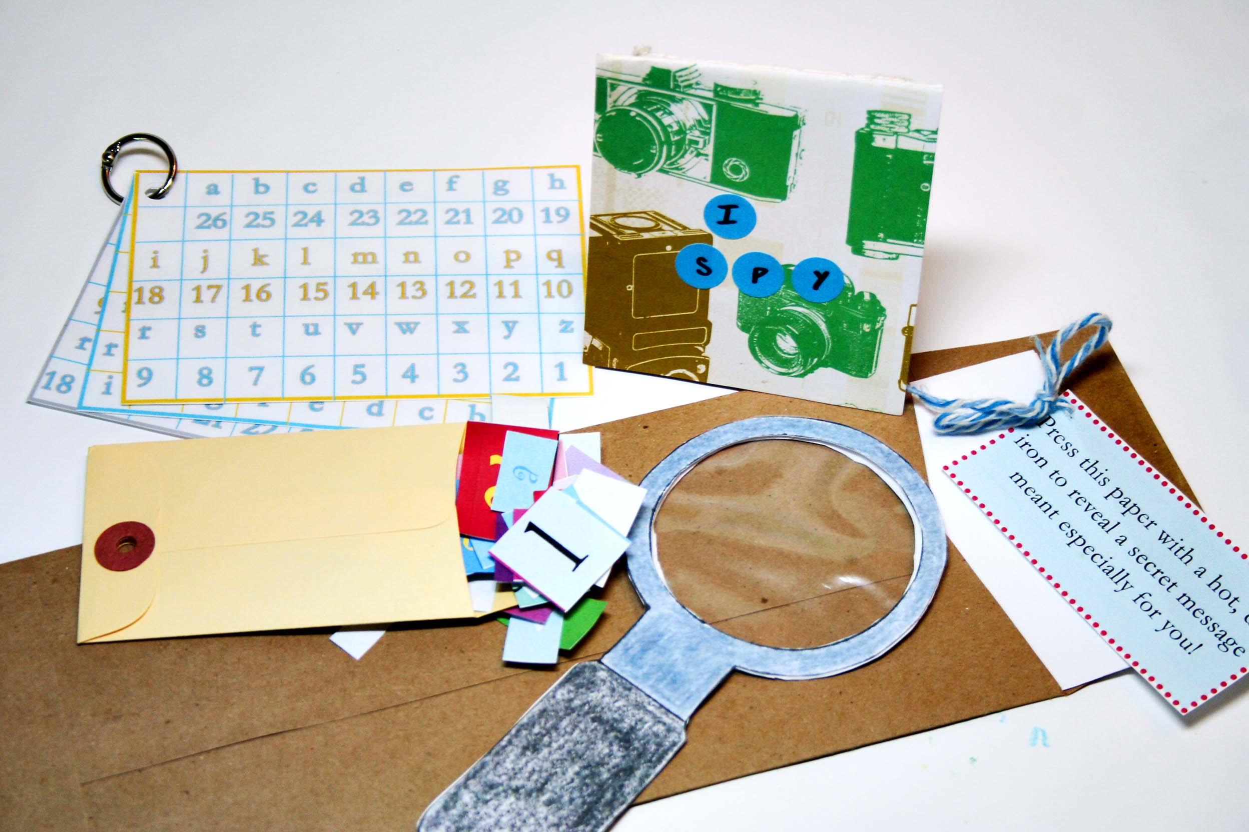 Craft kits for preschoolers - Soulemama Sponsor Alphabet Glue