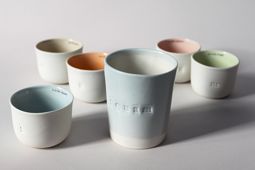 Formal shot squam cups