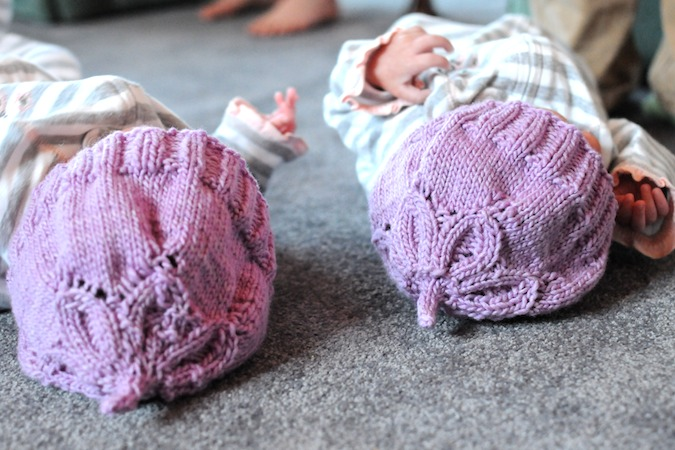The pattern is Baby Flower Hat 584a06b108a7