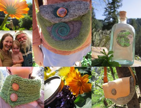 WoolyMossRoots, family,herbs,wool