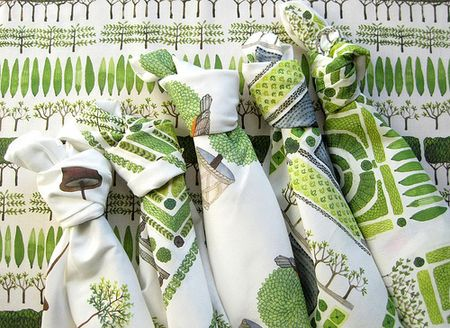 Topiary fabric