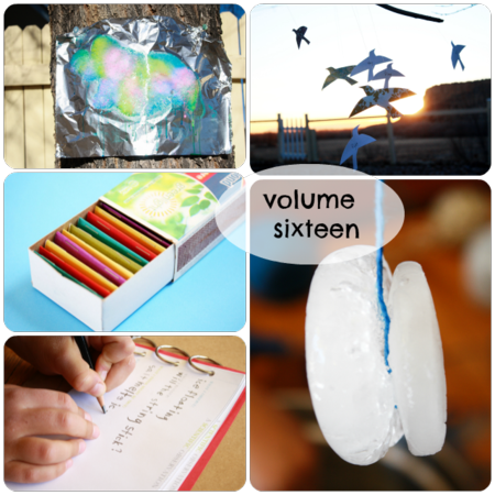 Volume sixteen photo collage