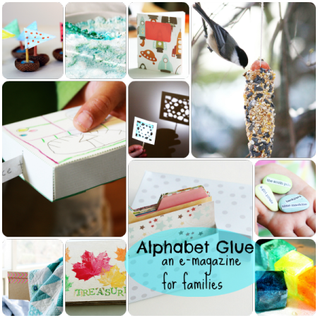 Alphabet Glue book bundle image