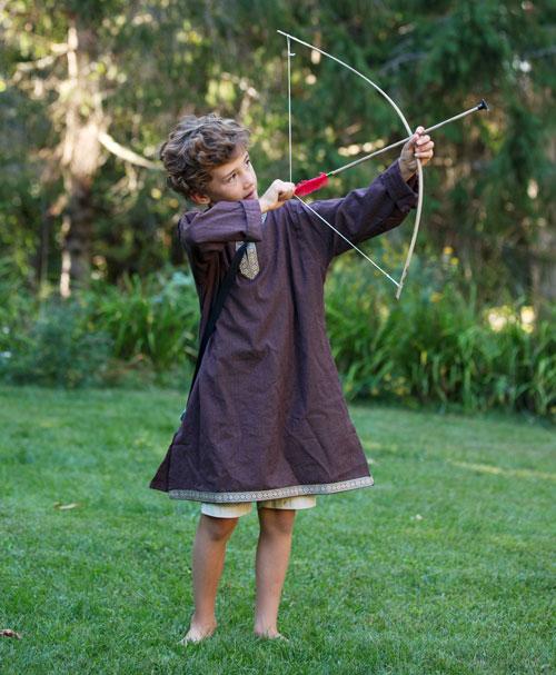 Knight's-bow-and-arrow