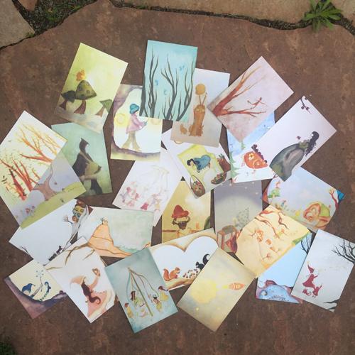Soule-postcards