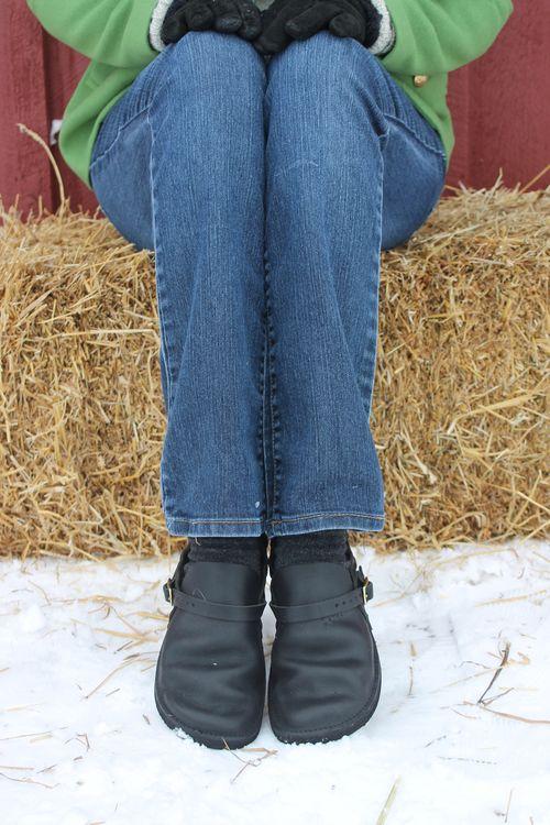 Ella and Aurora Shoe Co. snow 223
