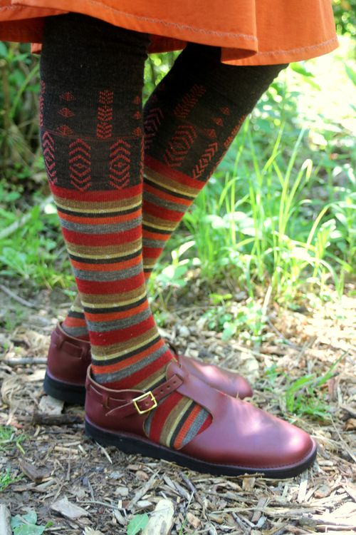 Woolen Moss and Aurora Shoe at Firelight 112