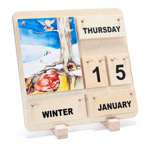 Wooden-calendar