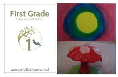 First Grade Collage