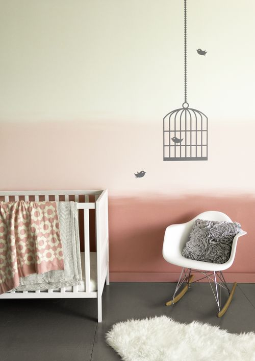 Colorhouse POmbre Wall - Nursery