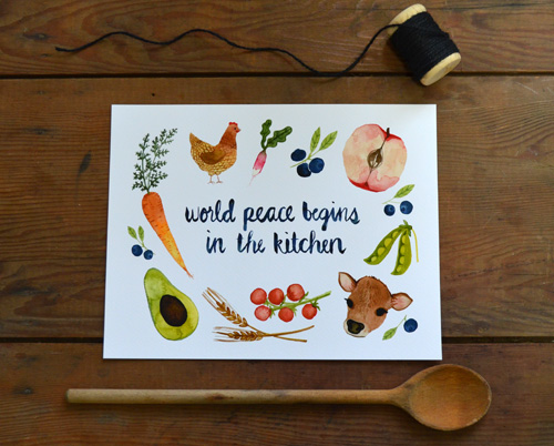 Little Truths Studio World Peace Kitchen SM